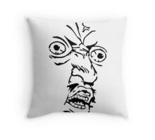 Y U NO MEME Throw Pillow