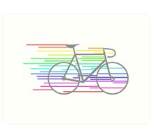 Rainbow Fixed Art Print