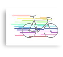 Rainbow Fixed Canvas Print