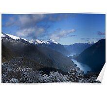 Wilmot Pass - Doubtful Sound, South Island, New Zealand Poster