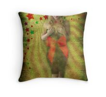 Ms. Claus Throw Pillow