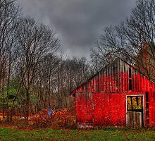 An Old Barn II by Evelina Kremsdorf