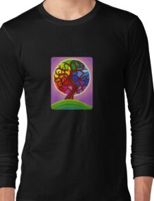 Rainbow Orb Tree of life Long Sleeve T-Shirt