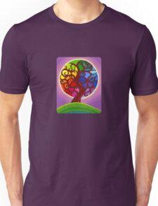 Rainbow Orb Tree of life Unisex T-Shirt