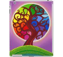 Rainbow Orb Tree of life iPad Case/Skin