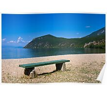 Lake Ohrid Beach Poster