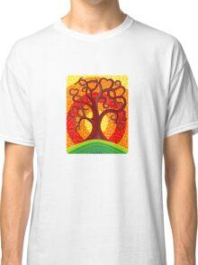 Autumn Illuminated Tree Classic T-Shirt
