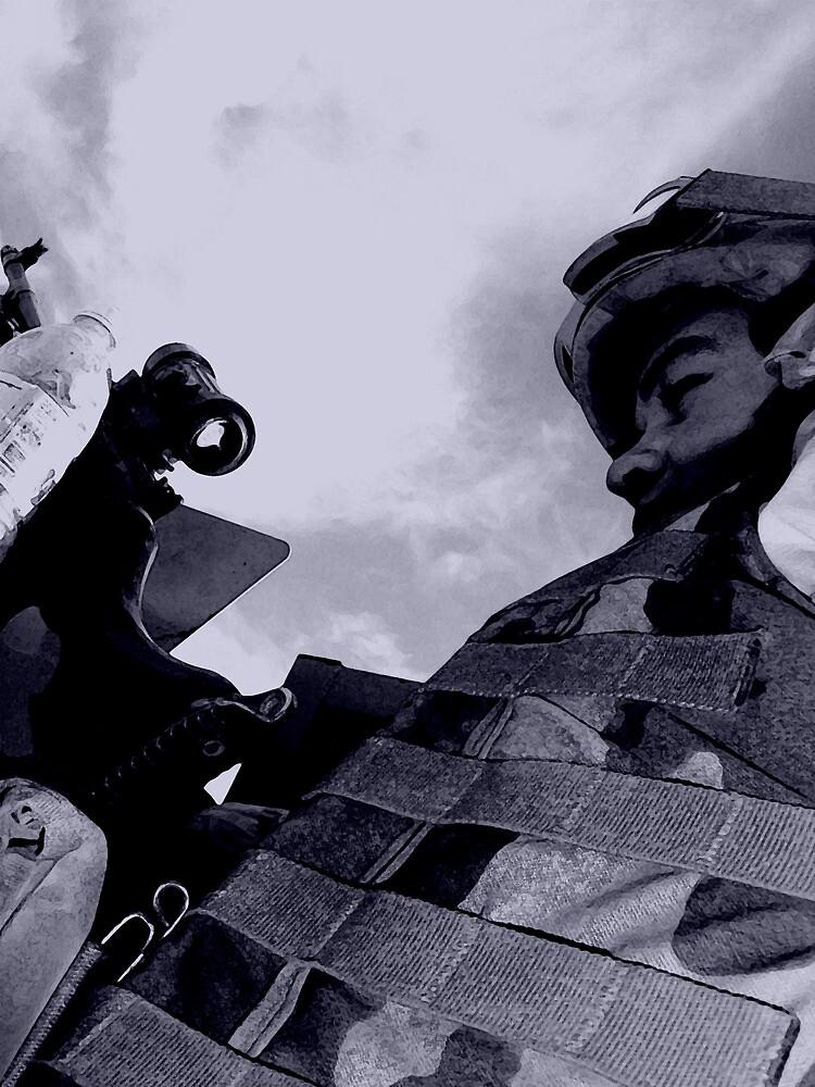 M240 Gunner by Benjamin Sloma