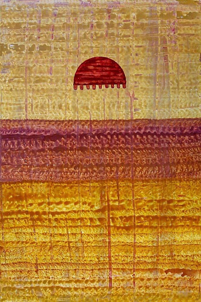 High Desert Horizon original painting by CrowRisingMedia