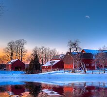 Winter In New England by Michael  Petrizzo