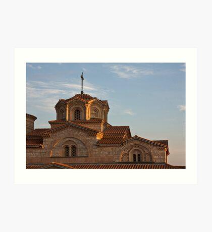 Ohrid Church Art Print