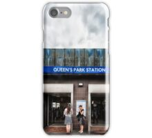 Queen's Park Tube Station iPhone Case/Skin
