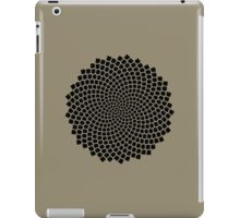 Sunflower Seed Fibonacci Spiral, Golden Ratio, Mathematics, Geometry iPad Case/Skin