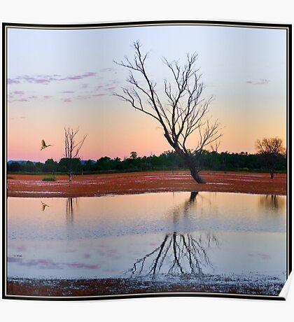 """Arcadia Valley Sunset"" Queensland, Australia Poster"