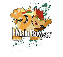 I Main Bowser - Super Smash Bros. Photographic Print