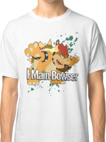 I Main Bowser - Super Smash Bros. Classic T-Shirt