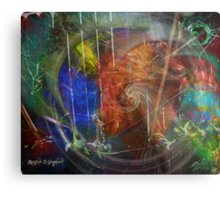Web of Collective Unconsciousness Metal Print