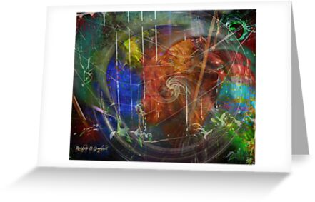 Web of Collective Unconsciousness by Rhonda Strickland