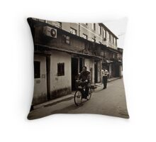 Riding Throw Pillow
