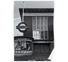 Rayners Lane Tube Station Poster