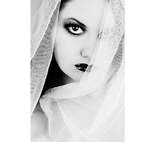 Lonely Pierrot Photographic Print