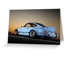 Porsche 911 RSR .... Greeting Card