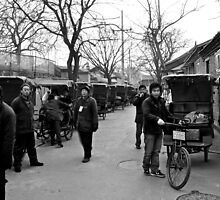 Rickshaw family by Ruben D. Mascaro