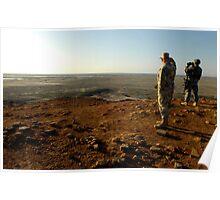 an inspiring Iraq landscape Poster