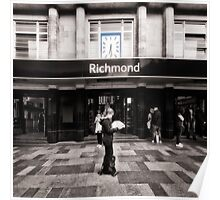 Richmond Tube Station Poster