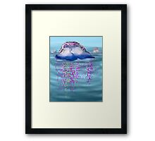 Portuguese man-of-war Framed Print