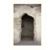 Ancient Horse Stable Art Print