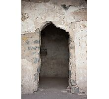 Ancient Horse Stable Photographic Print