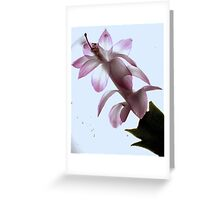 New Flower Project 48 Greeting Card