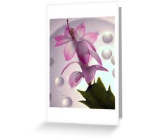 New Flower Project 60 Greeting Card