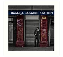 Russel Square Tube Station Art Print