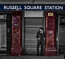 Russel Square Tube Station by AntSmith