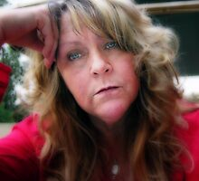 Self Portrait by Rhonda Strickland