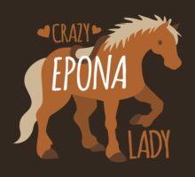 Crazy Epona (pony horse) Lady by jazzydevil