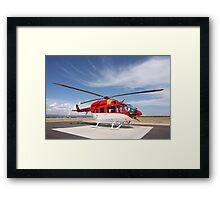 Helicopter Eurocopter EC145 #1 Framed Print