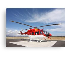 Helicopter Eurocopter EC145 #1 Canvas Print
