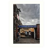 Shepherd's Bush Market Tube Station Art Print