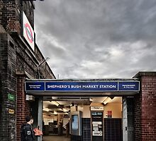 Shepherd's Bush Market Tube Station by AntSmith