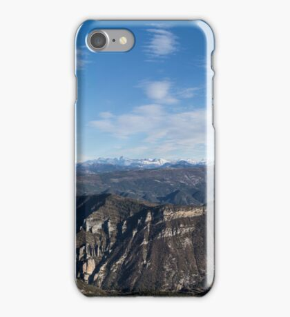 Raton Ridge Panorama - Drôme Provençale, France iPhone Case/Skin
