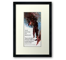 The Battle Of Britain WW2 Art reproduction Framed Print