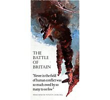 The Battle Of Britain WW2 Art reproduction Photographic Print