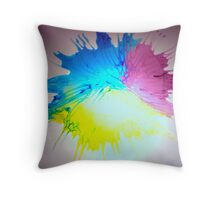 New Flower Project 120 Throw Pillow