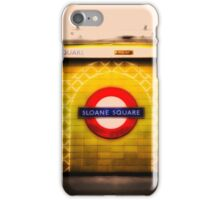 Sloane Square Tube Station iPhone Case/Skin