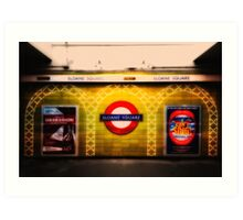 Sloane Square Tube Station Art Print