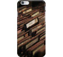 Sheffield Steel iPhone Case/Skin