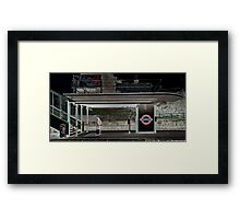 South Ealing Tube Station Framed Print